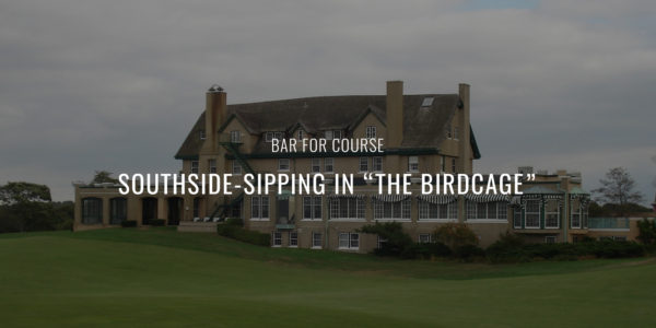 "Bar for Course: Southsides at ""The Birdcage"""